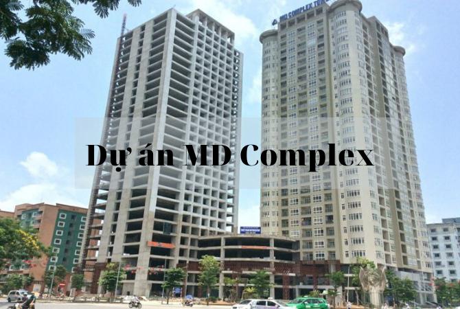 Tổng thể dự án MD Complex Mỹ Đình – Splendora Bắc An Khánh