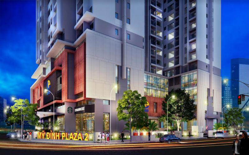 dự án chung cư Mỹ Đình Plaza 2