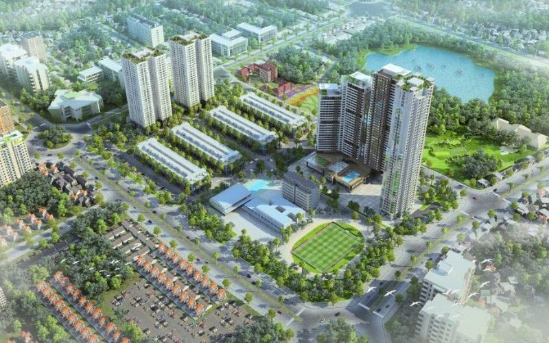 dự án Chung cư, Shophouse: HD Mon City